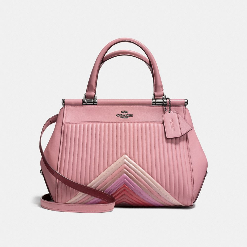 Coach Grace Bag With Colorblock Quilting