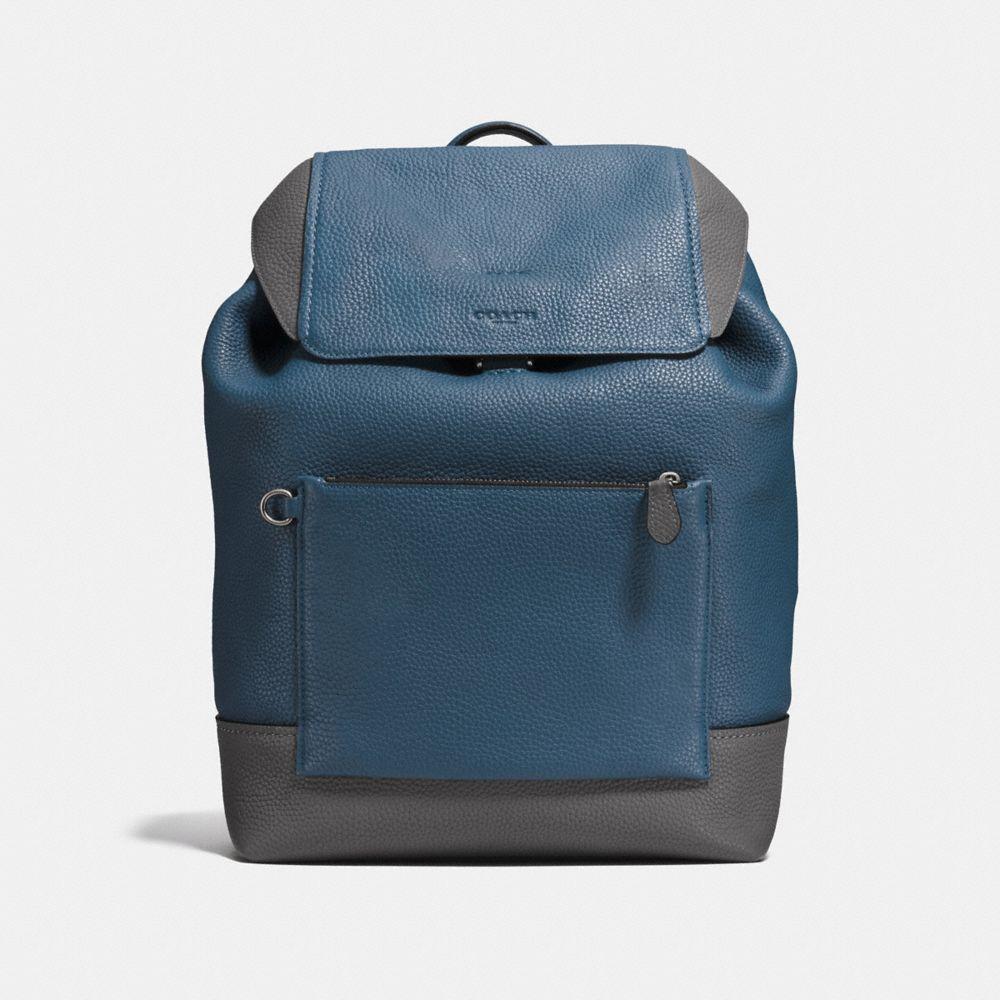 Coach Manhattan Backpack in Colorblock