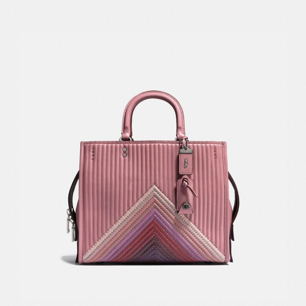 Coach Riveted Charm bag - Pink & Purple