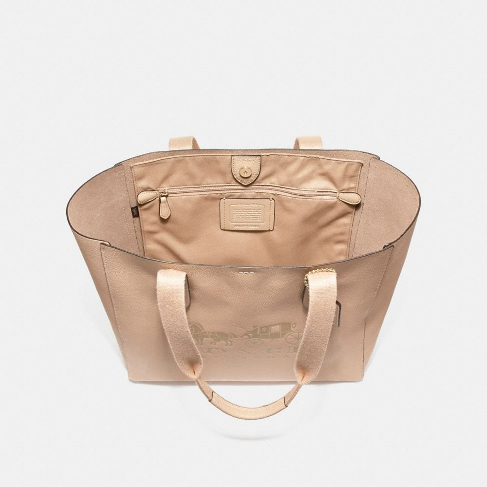 Coach Grove Tote With Horse and Carriage Alternate View 3