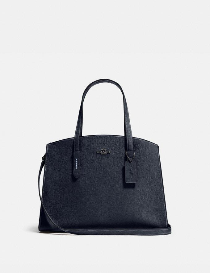 Coach Charlie Carryall Dk/Midnight Navy New Featured 30% off (and more)