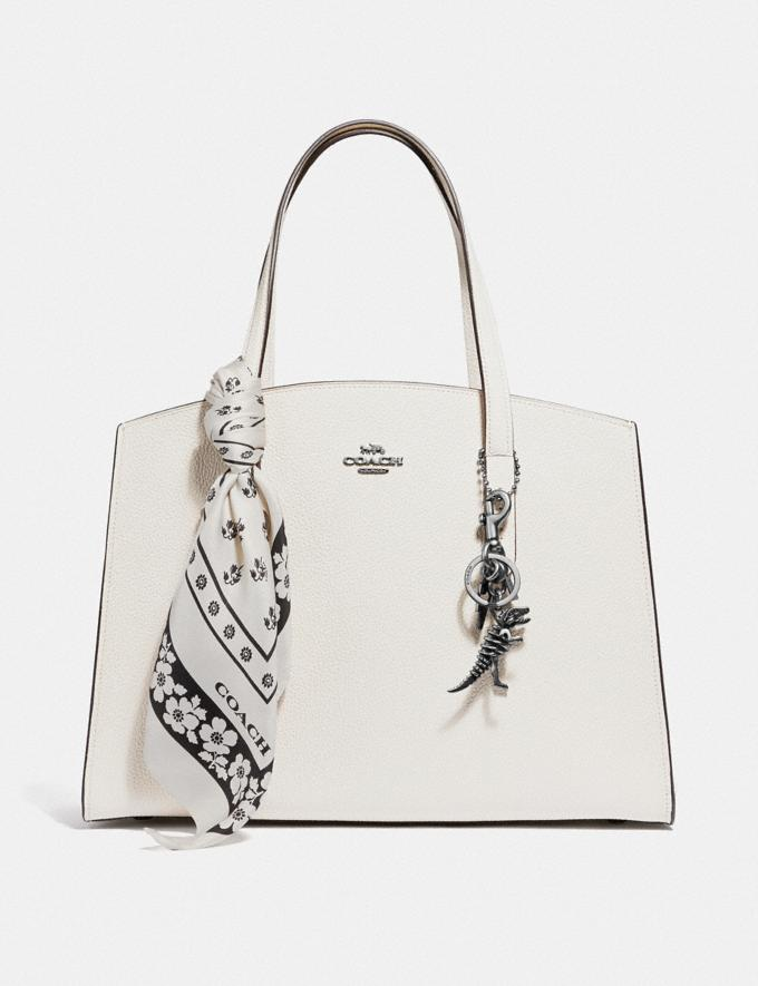 Coach Charlie Carryall Chalk/Silver Gifts For Her Valentine's Day Gifts Alternate View 3