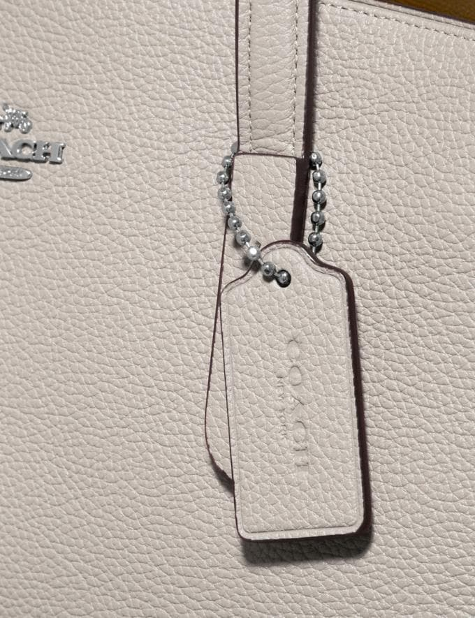 Coach Charlie Carryall Chalk/Silver Customization Personalize It Monogram for Her Alternate View 6