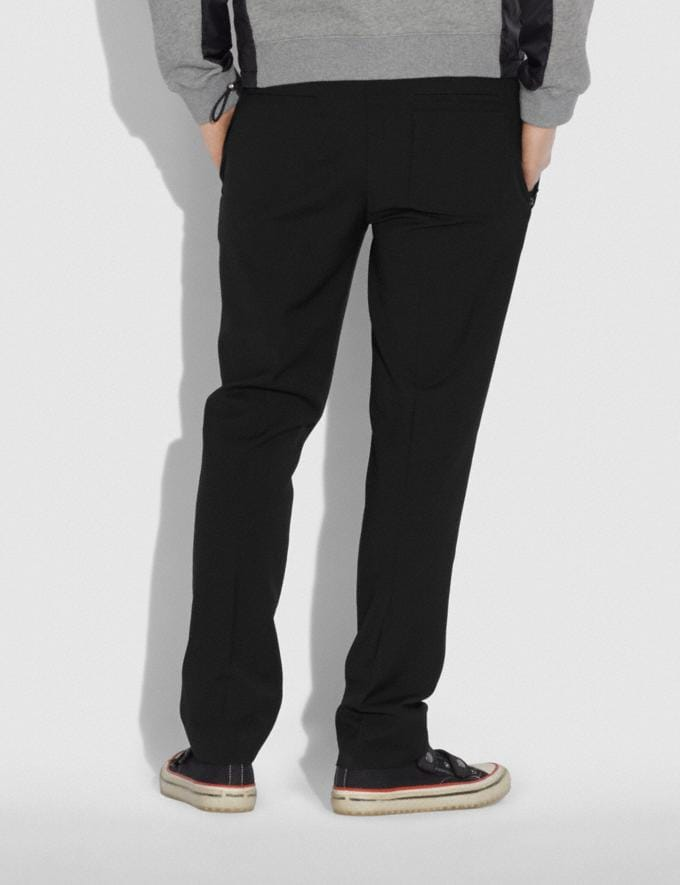 Coach Pleated Pants Black SALE 30% off Select Full-Price Styles Men's Alternate View 2