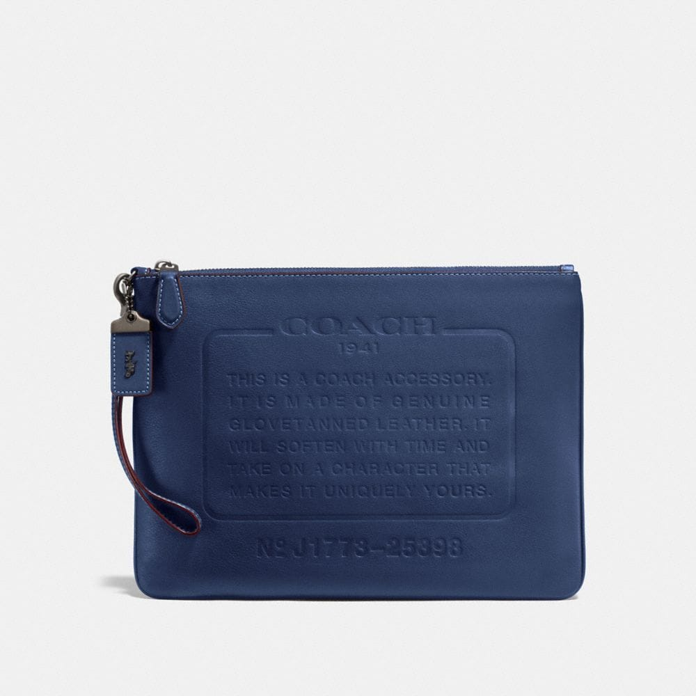 Coach Pouch With Storypatch