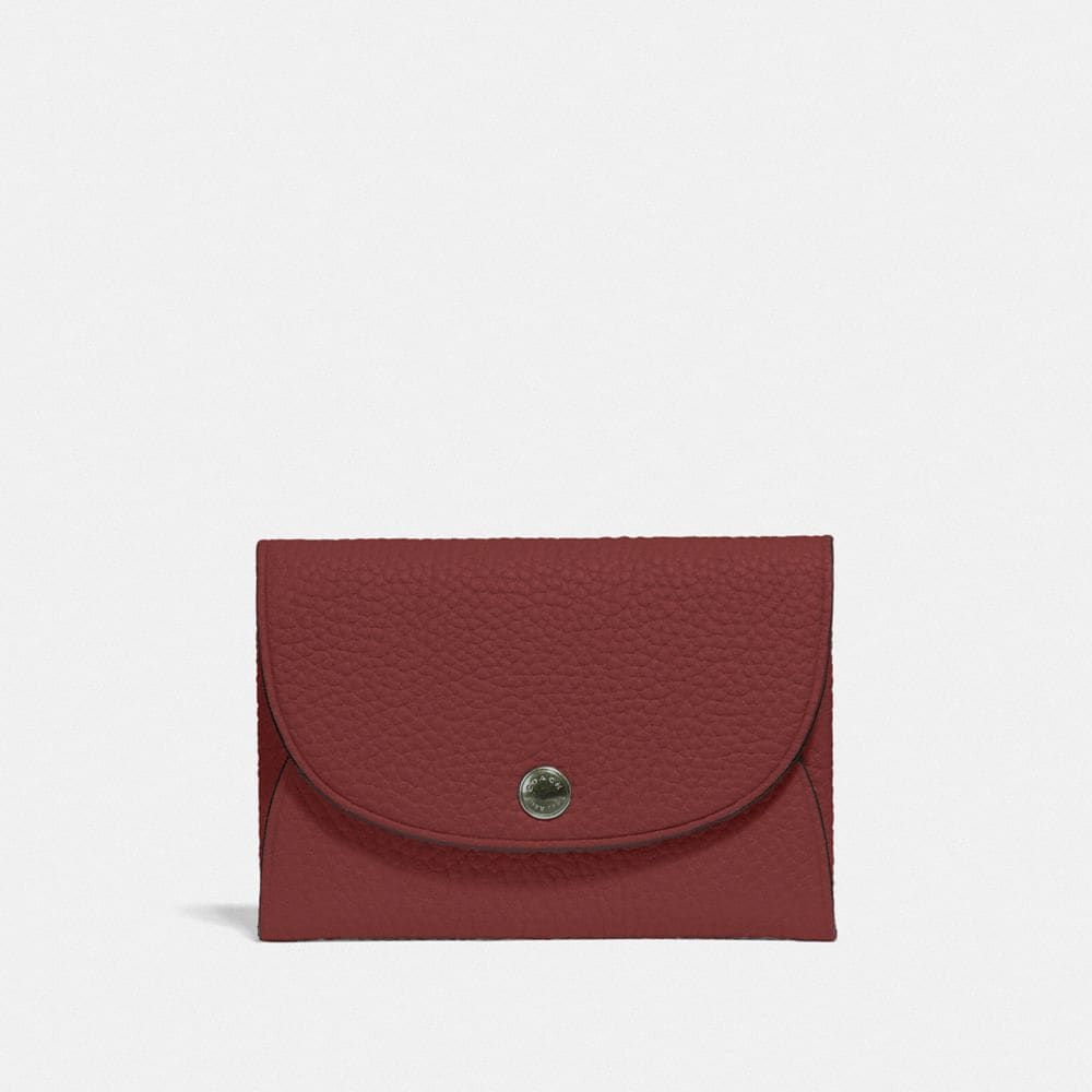 Coach Snap Card Case in Colorblock
