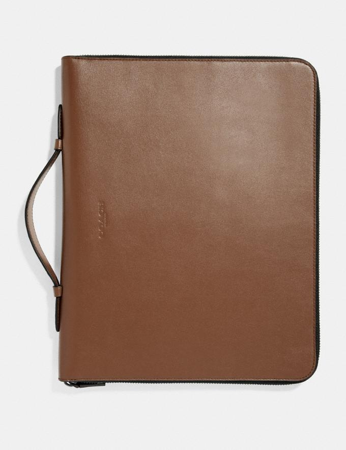 Coach Business Portfolio Saddle New Men's New Arrivals View All