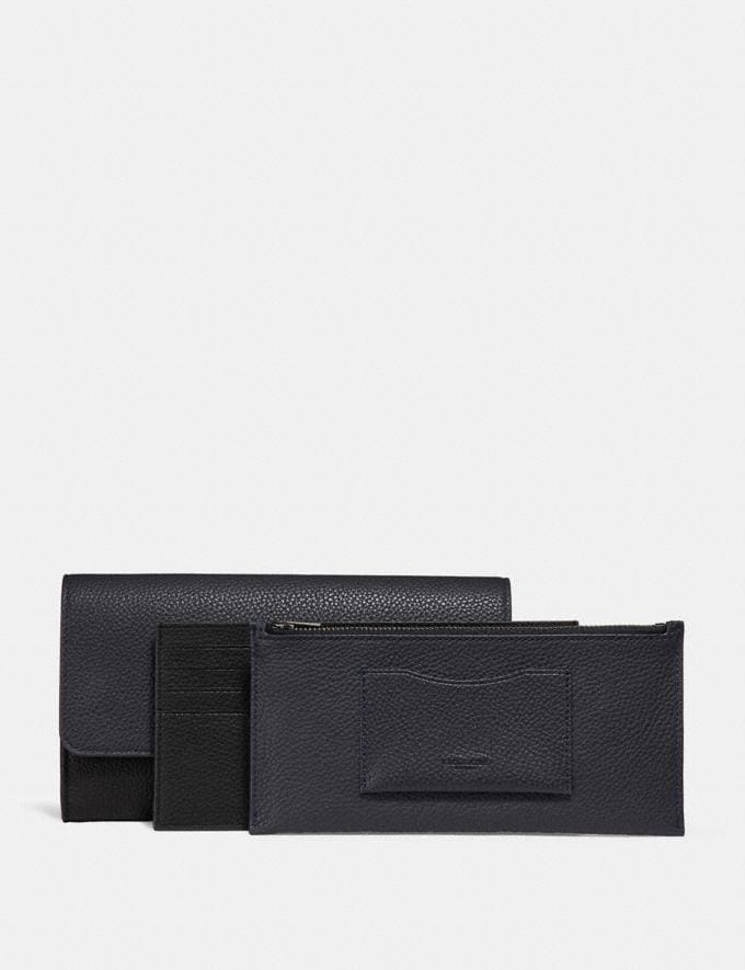 Coach Multifunctional Wallet in Colorblock Agate/Graphite Men Accessories Tech & Travel Alternate View 1
