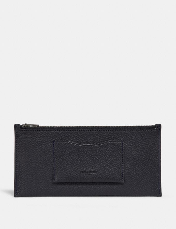 Coach Multifunctional Wallet in Colorblock Agate/Graphite Men Accessories Tech & Travel Alternate View 4