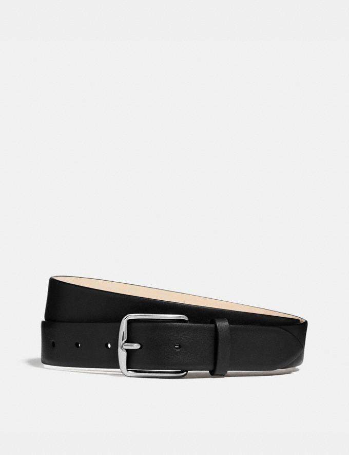 Coach Harness Buckle Dress Belt, 32mm Black Gifts For Him Bestsellers