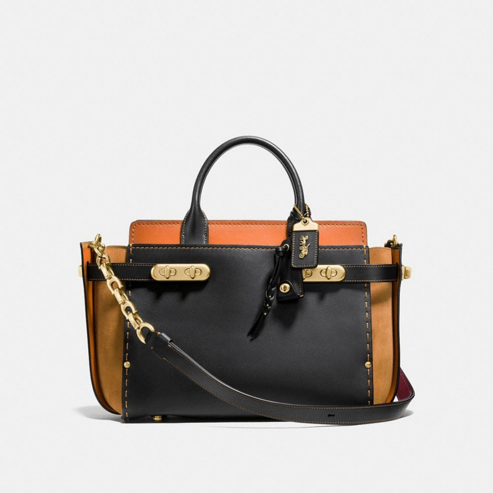 COACH DOUBLE SWAGGER EN COLOR BLOCK