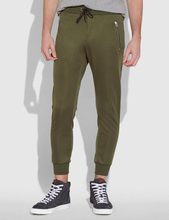 Coach Track Pants Military Men Ready-to-Wear Tops & Bottoms Alternate View 1