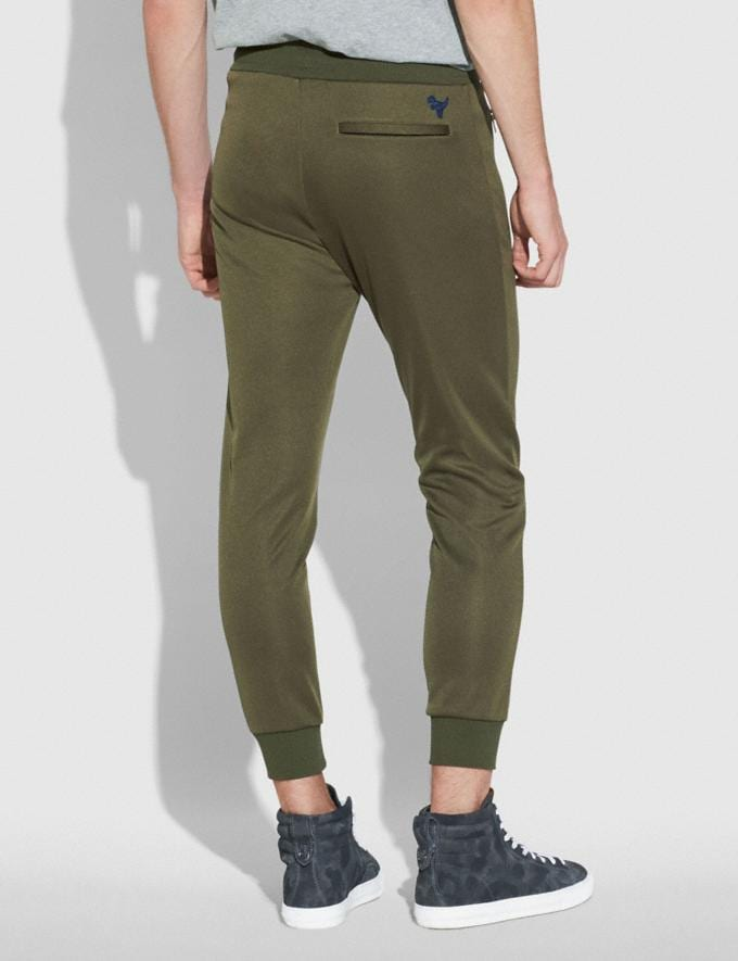 Coach Track Pants Military Men Ready-to-Wear Tops & Bottoms Alternate View 2