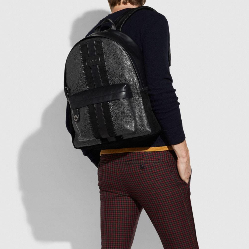 Coach Campus Backpack With Baseball Stitch Alternate View 3