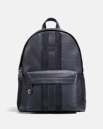 Campus Backpack With Baseball Sch