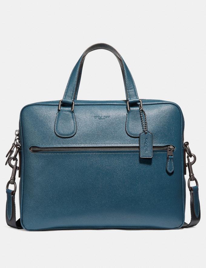Coach Hudson 5 Bag Black/Silver