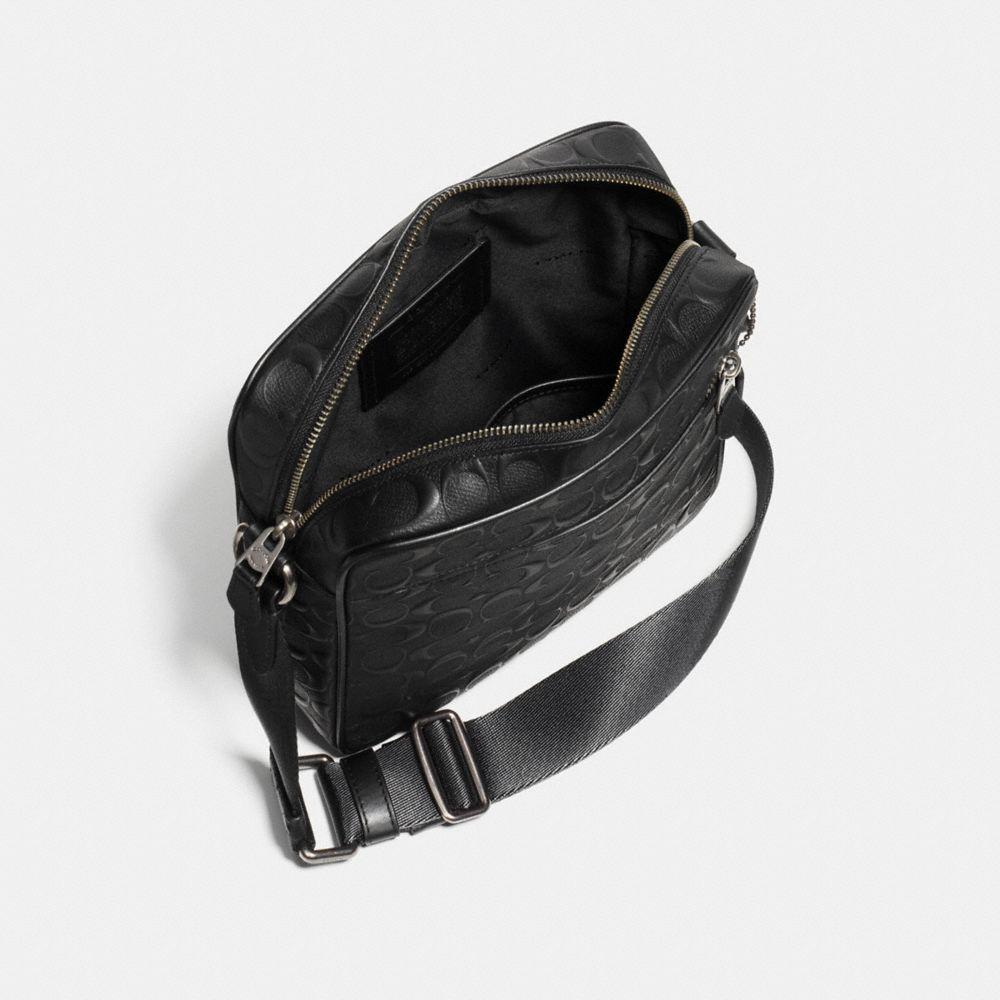 Coach Metropolitan Flight Bag in Signature Leather Alternate View 2