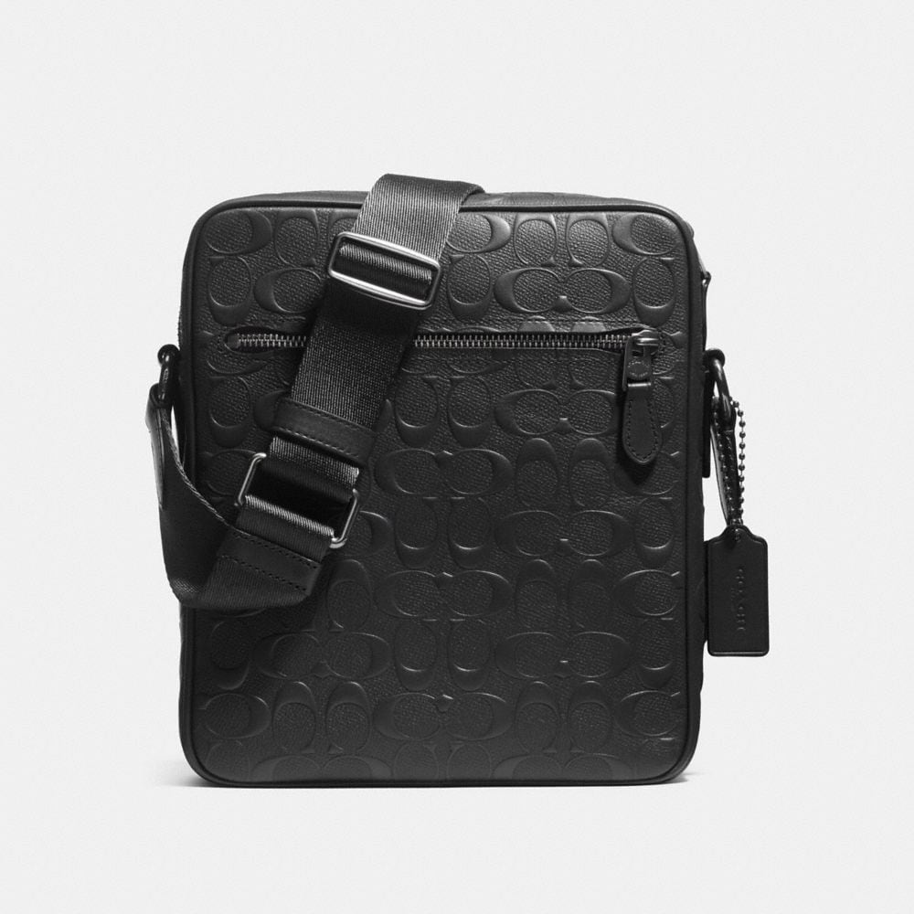 Coach Metropolitan Flight Bag in Signature Leather