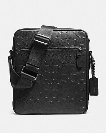 Metropolitan Flight Bag In Signature Leather