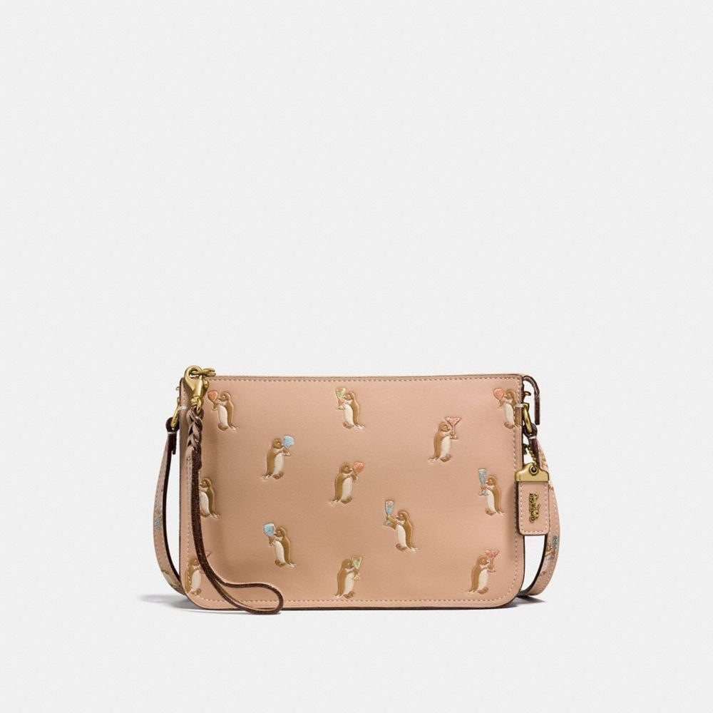 soho crossbody with penguin print