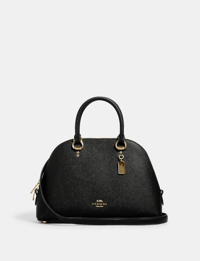 Coach Katy Satchel Im/Black What's New Top Fall Trends
