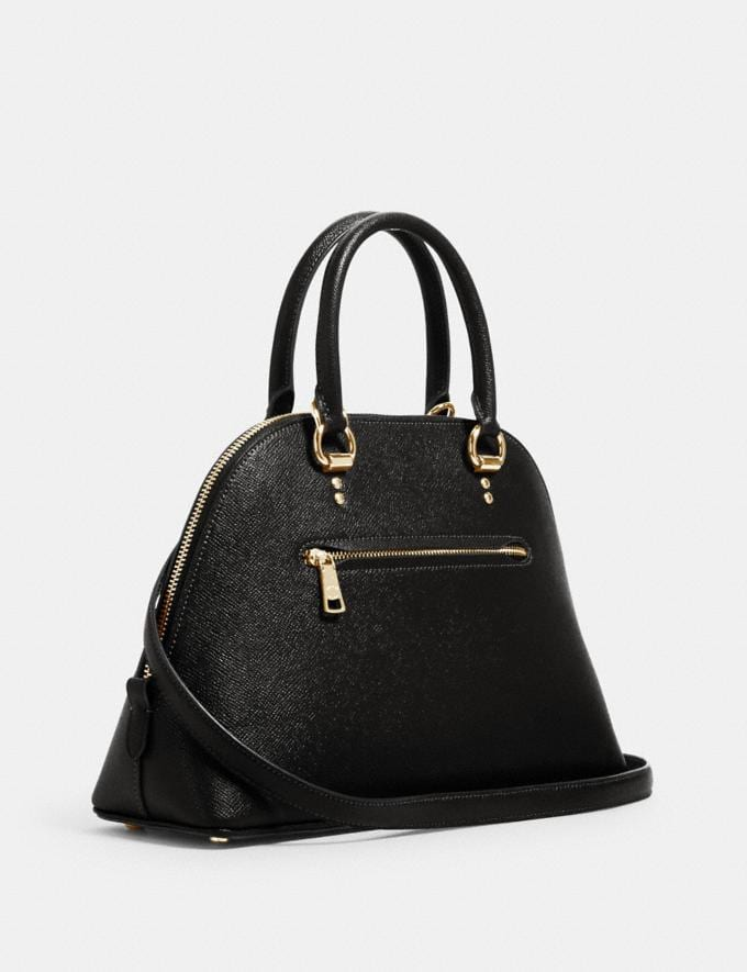 Coach Katy Satchel Im/Black What's New Top Fall Trends Alternate View 1