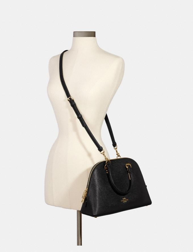 Coach Katy Satchel Im/Black What's New Top Fall Trends Alternate View 3