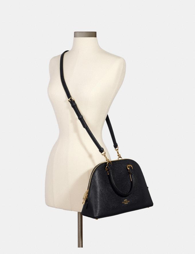 Coach Katy Satchel Im/Midnight Bags Bags Satchels Alternate View 3