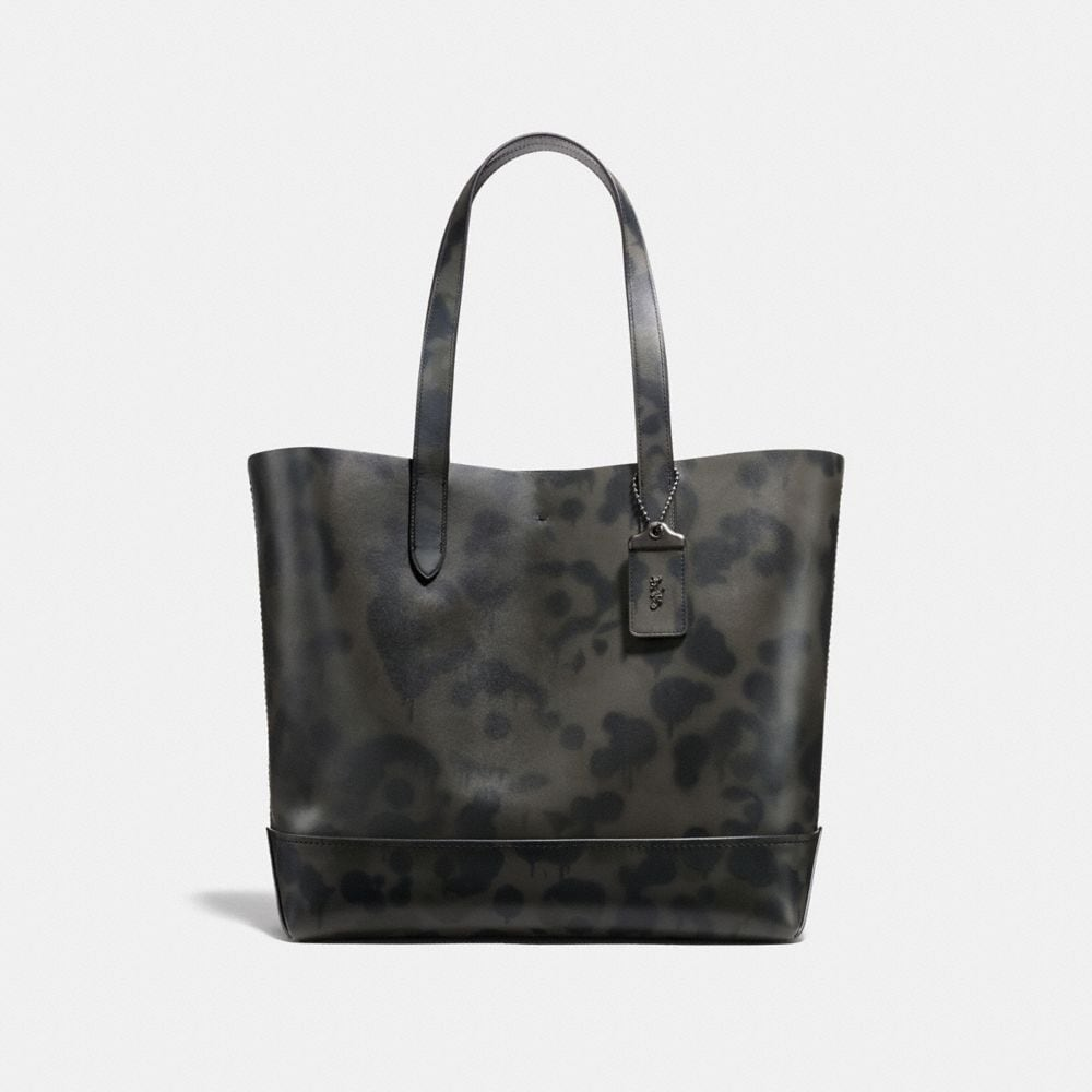 GOTHAM TOTE WITH WILD BEAST PRINT