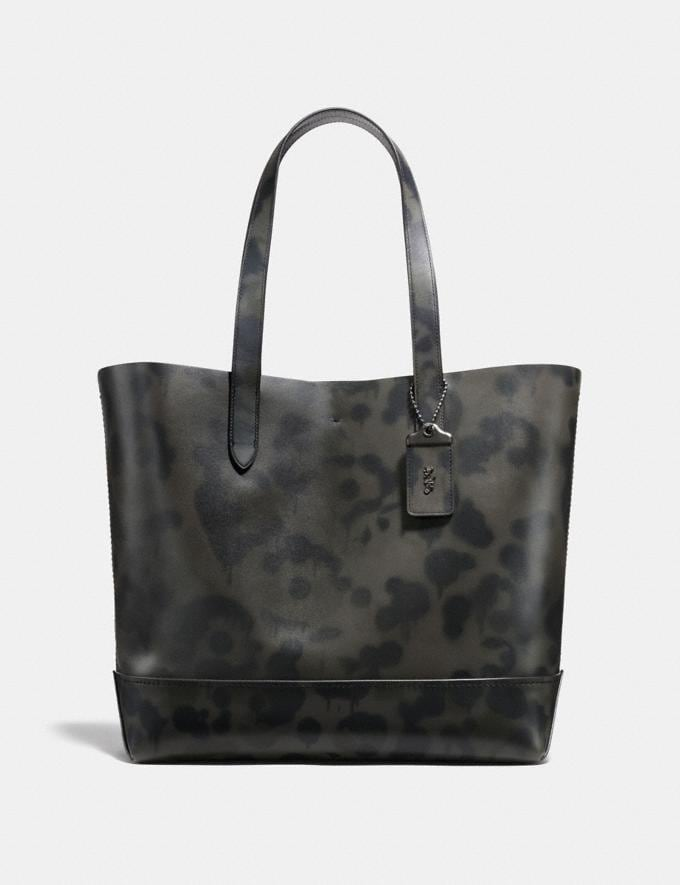 Coach Gotham Tote With Wild Beast Print Charcoal/Black Copper Men Bags View All