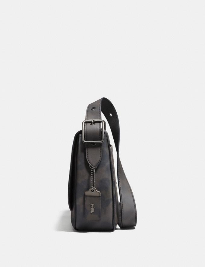 Coach Saddle 33 With Wild Beast Print Charcoal/Black Copper Finish Men Bags View All Alternate View 1