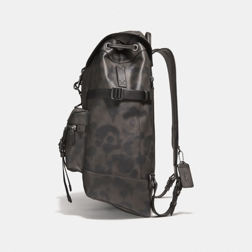 Coach Bleecker Utility Backpack With Wild Beast Print Alternate View 1