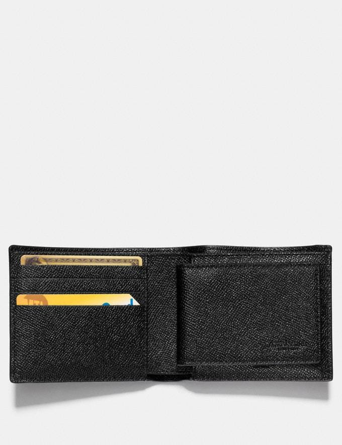 Coach 3-In-1 Wallet Black Gifts For Him Bestsellers Alternate View 1