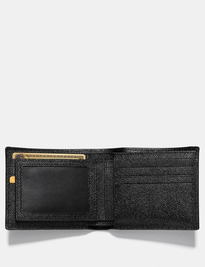 Coach 3-In-1 Wallet Black New Men's New Arrivals Wallets Alternate View 2
