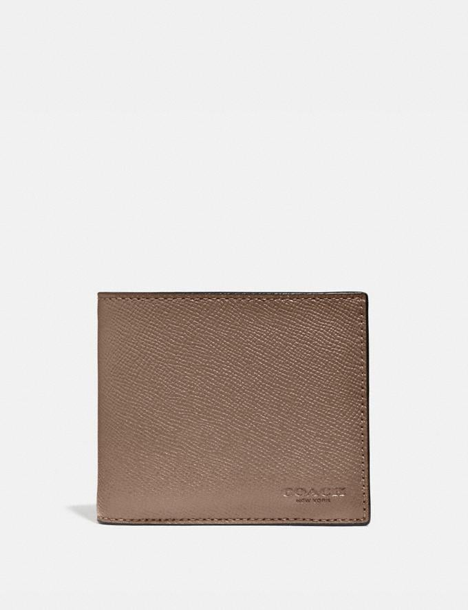 Coach 3-In-1 Wallet Elm New Men's New Arrivals