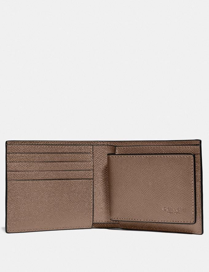 Coach 3-In-1 Wallet Elm New Men's New Arrivals Alternate View 1