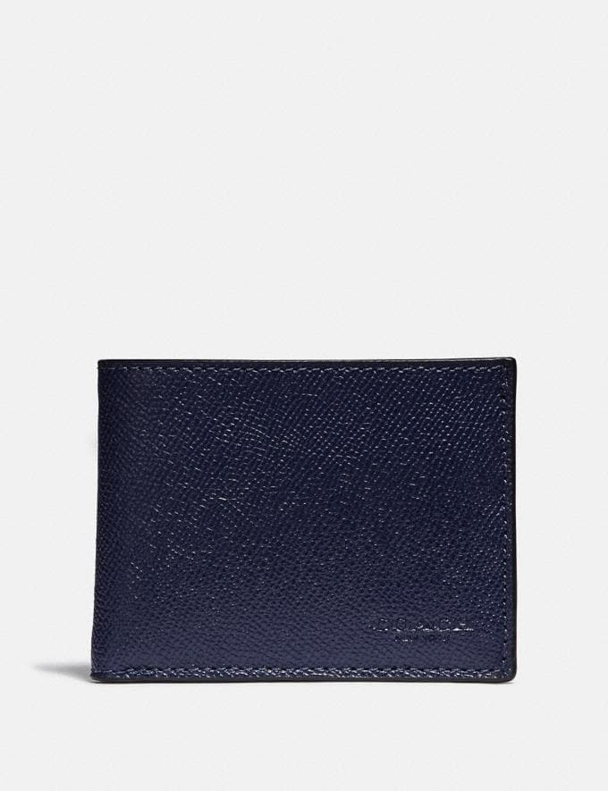 Coach Slim Billfold Wallet Cadet
