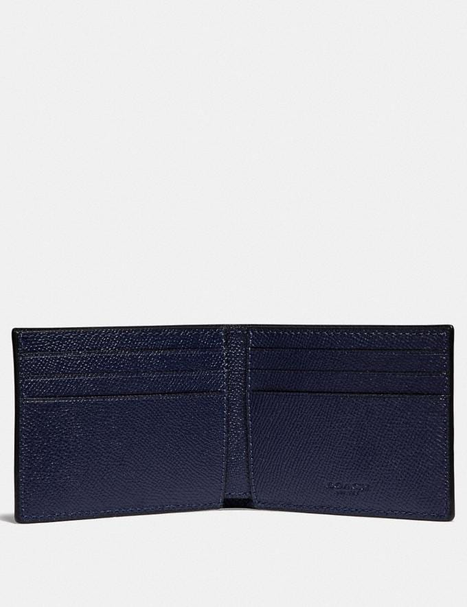 Coach Slim Billfold Wallet Cadet  Alternate View 1