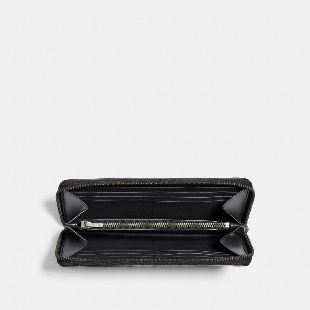 Coach Accordion Wallet in Signature Leather Alternate View 1