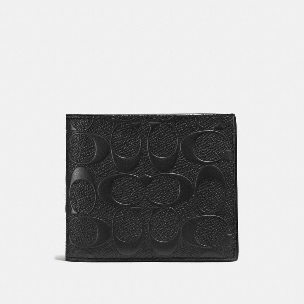 Coach 3-In-1 Wallet in Signature Leather