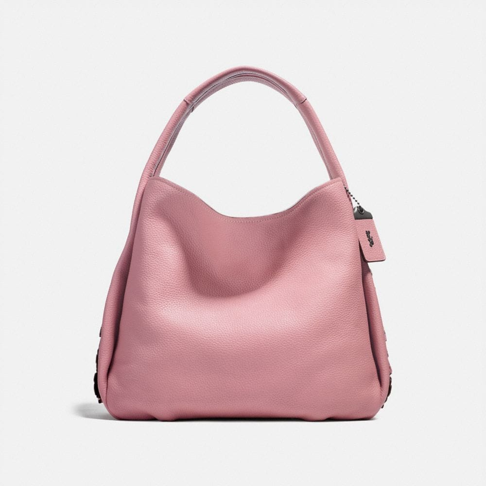 Coach Bandit Hobo 39 With Tea Rose Detail