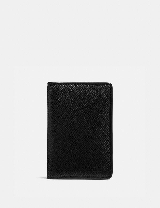 Coach Card Wallet Black Customization Personalize It Monogram for Him