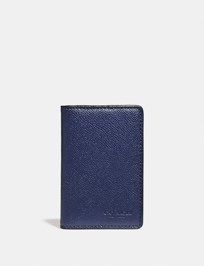 Coach Card Wallet Cadet