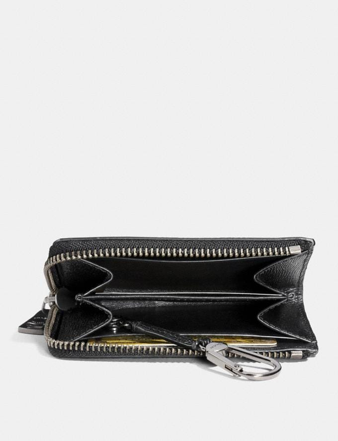 Coach Zip Key Case Black Gifts For Him Under $100 Alternate View 1