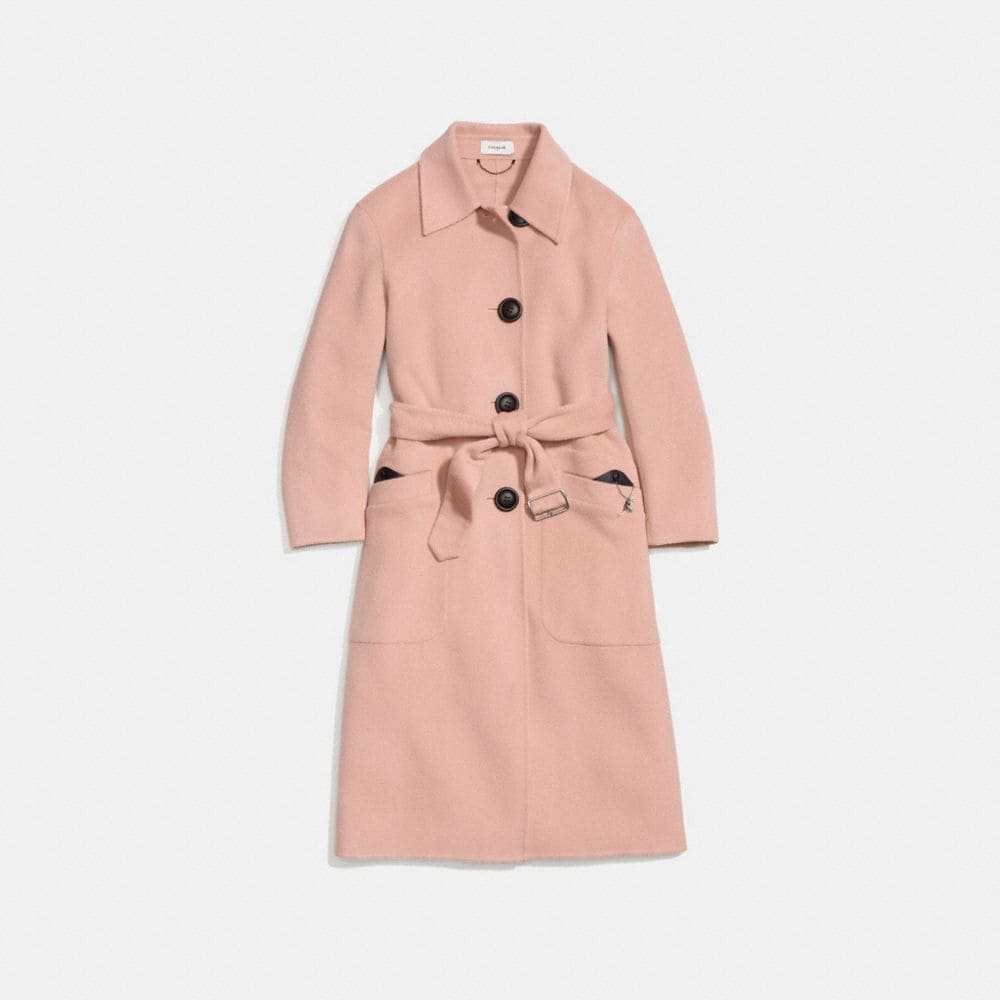Coach Wool Trench
