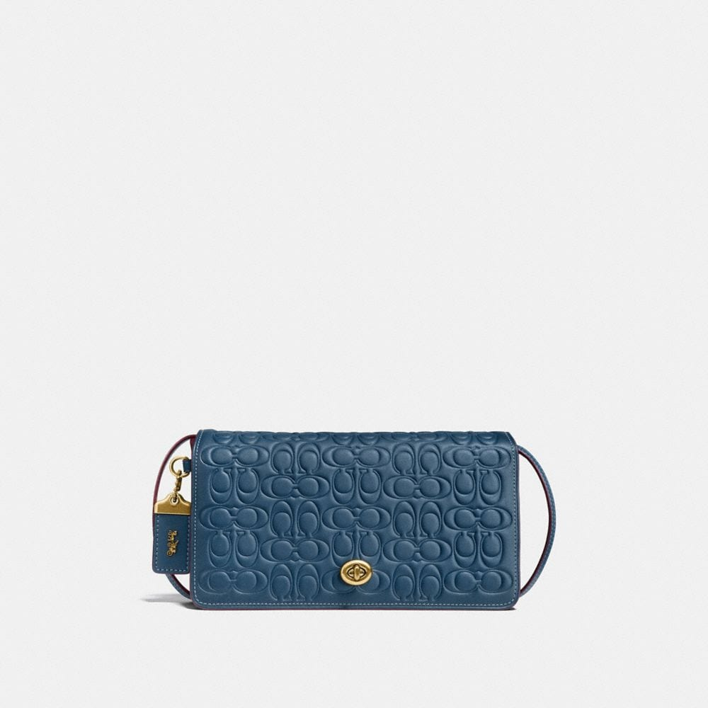 DINKY IN SIGNATURE GLOVETANNED LEATHER