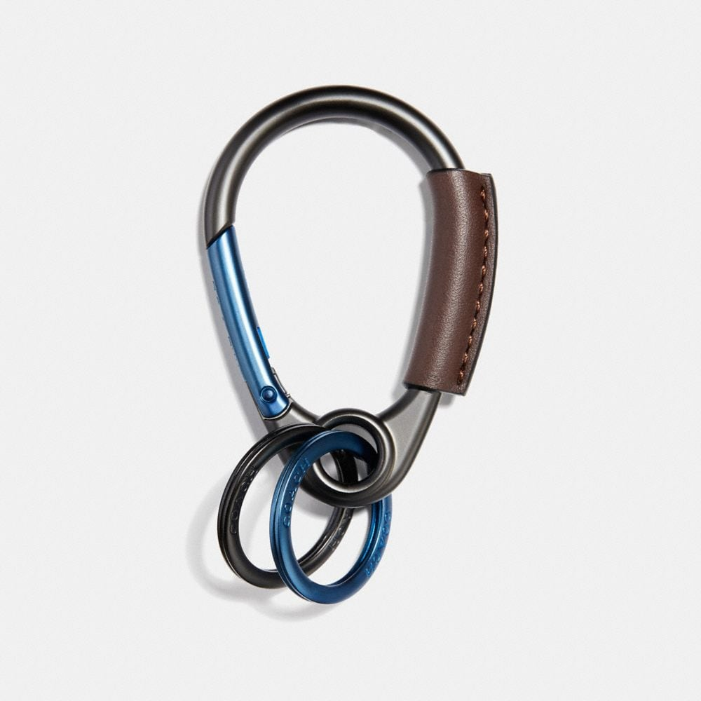 Coach Carabiner Key Ring