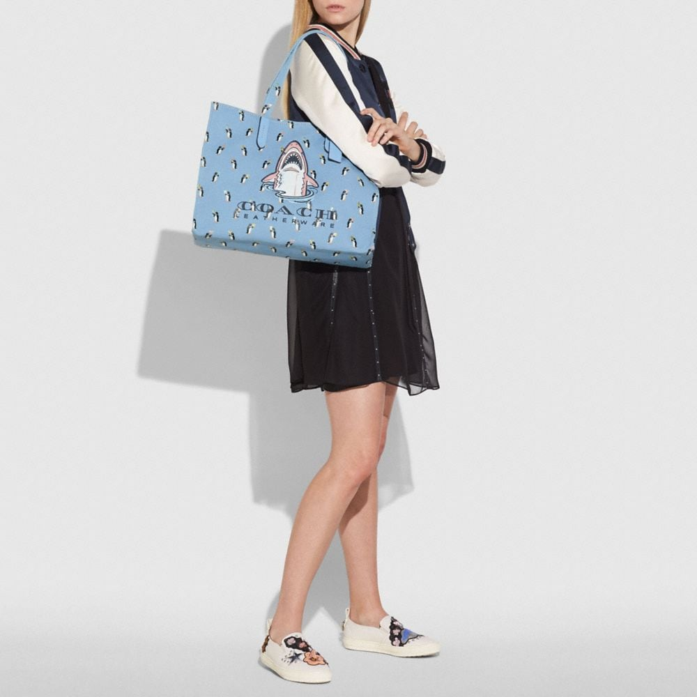 Coach Sharky Tote 42 Alternate View 3