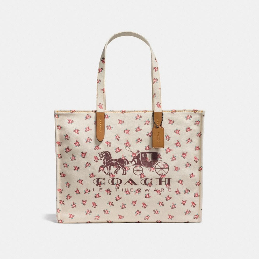 Coach Horse and Carriage Tote 42