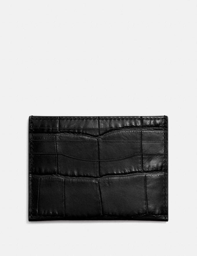 Coach Card Case Black Men Wallets Card Cases
